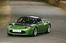 Tesla Roadster (credit: wikipedia)