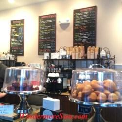 My French Cafe- madelains and menus (credit: Windermere Sun-Susan Sun Nunamaker)