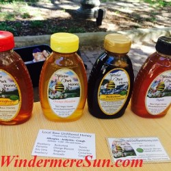 Winter Park Honey at Windermere Farmer's Market (credit: Windermere Sun-Susan Sun Nunamaker)