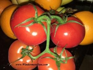 Farmer's Market tomatoes (credit: Windermere Sun-Susan Sun Nunamaker)