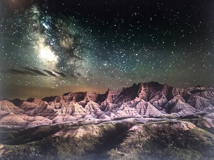 National Parks-Night Skies Winner by Erik Fremstad-Badlands National Park