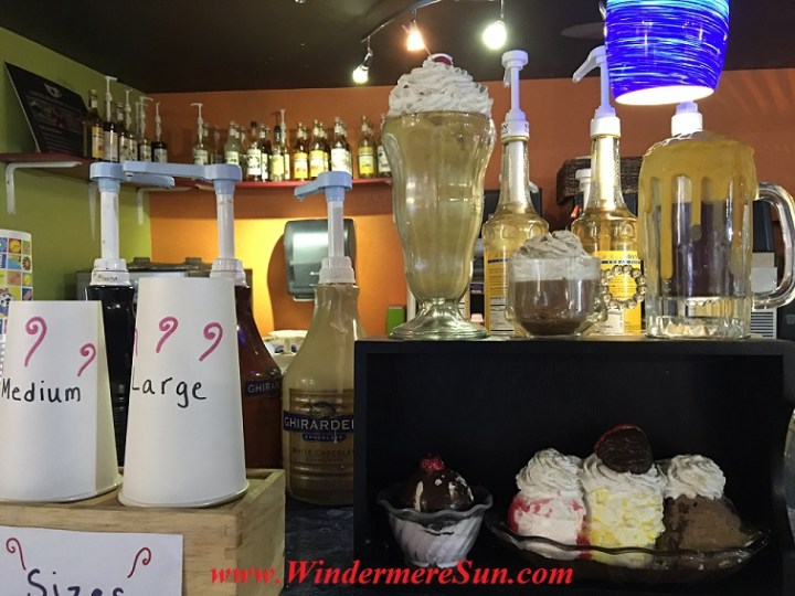 Allen's Creamery & Coffee House interior, 523 Main Sstreet, Windermere, FL (credit: Windermere Sun-Susan Sun Nunamaker)