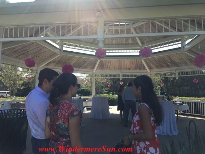 Reception at Gazebo (credit: Windermere Sun-Susan Sun Nunamaker)