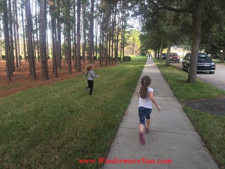 Children Running (credit: Windermere Sun-Susan Sun Nunamaker)