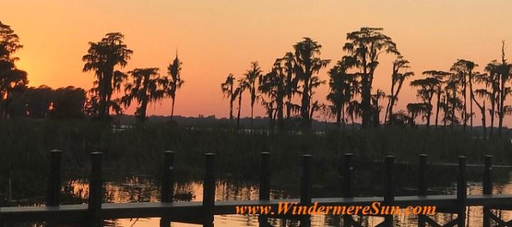 Sunset at Butler (credit: Windermere Sun-Susan Sun Nunamaker)
