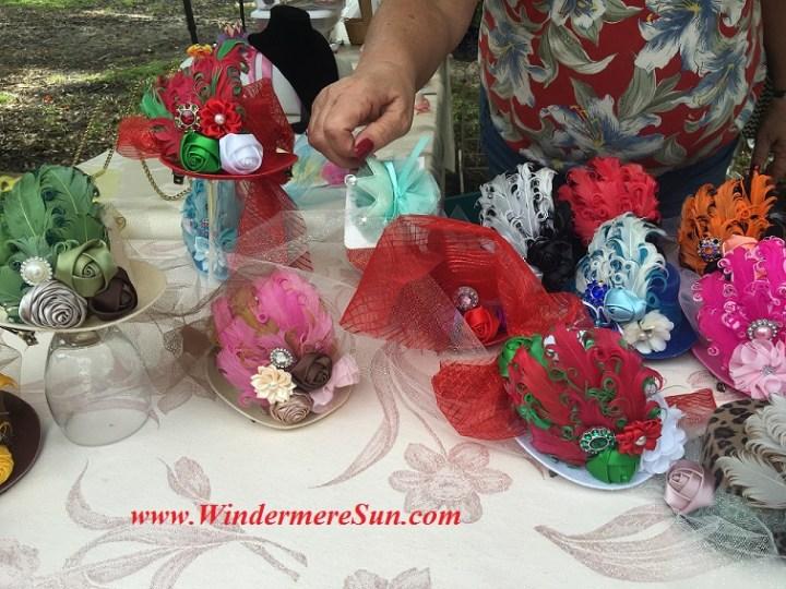 Holiday Season Hats of WFM (credit:Windermere Sun-Susan Sun Nunamaker)