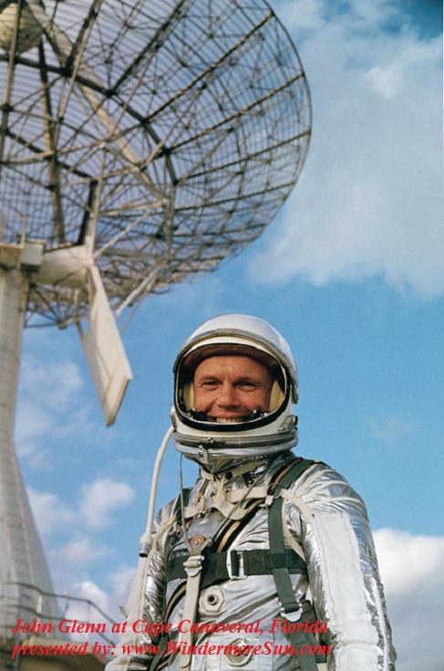 John Glenn at Cape Canaveral final