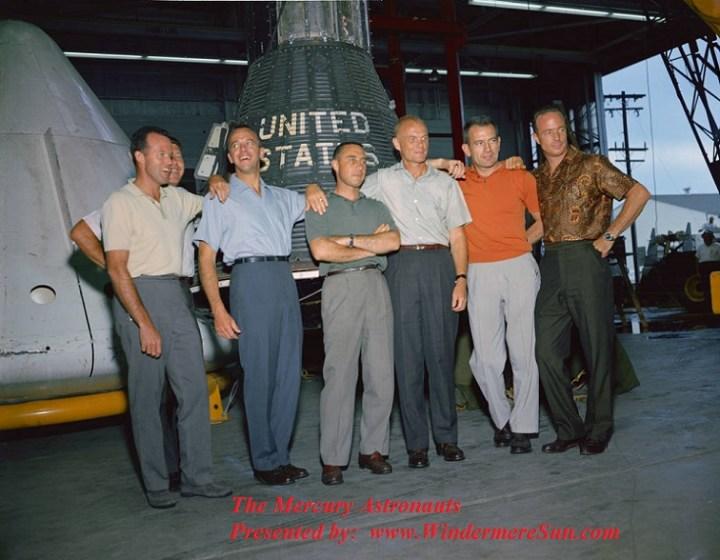 The Mercury Astronauts final
