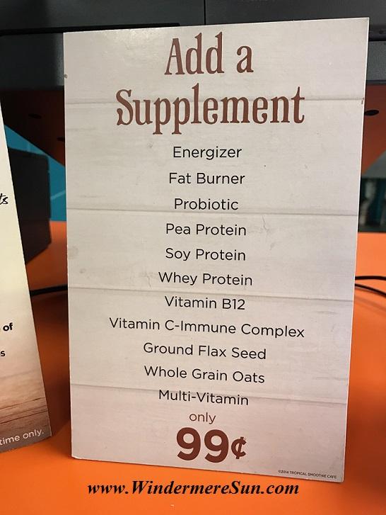 Add-on Supplement list final