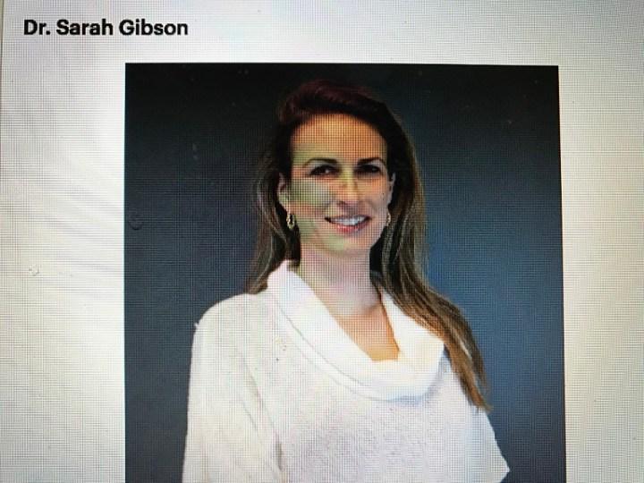 Dr. Sarah Gibson final