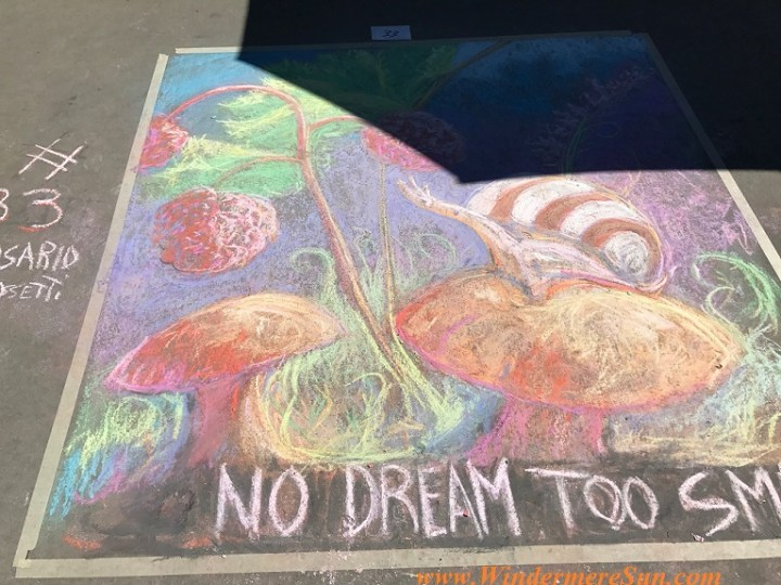 No Dream Too Small #3 art work final