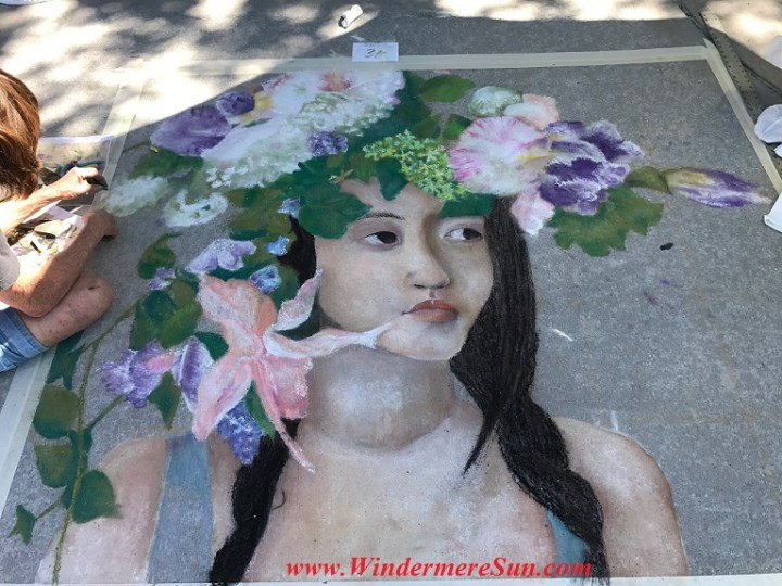 girl Polynesia style art work final