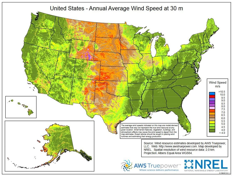 Windexchange Wind Energy Maps And Data