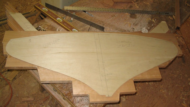 Wooden Boat Construction – Backbone assembly