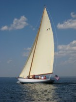 Buzzards Bay 30 out for a sail on Lake Champlain