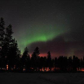 How to photograph aurora borealis, northern lights in Lapland, Finland
