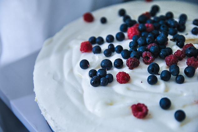 Tiramisu Berry Cake Recipe