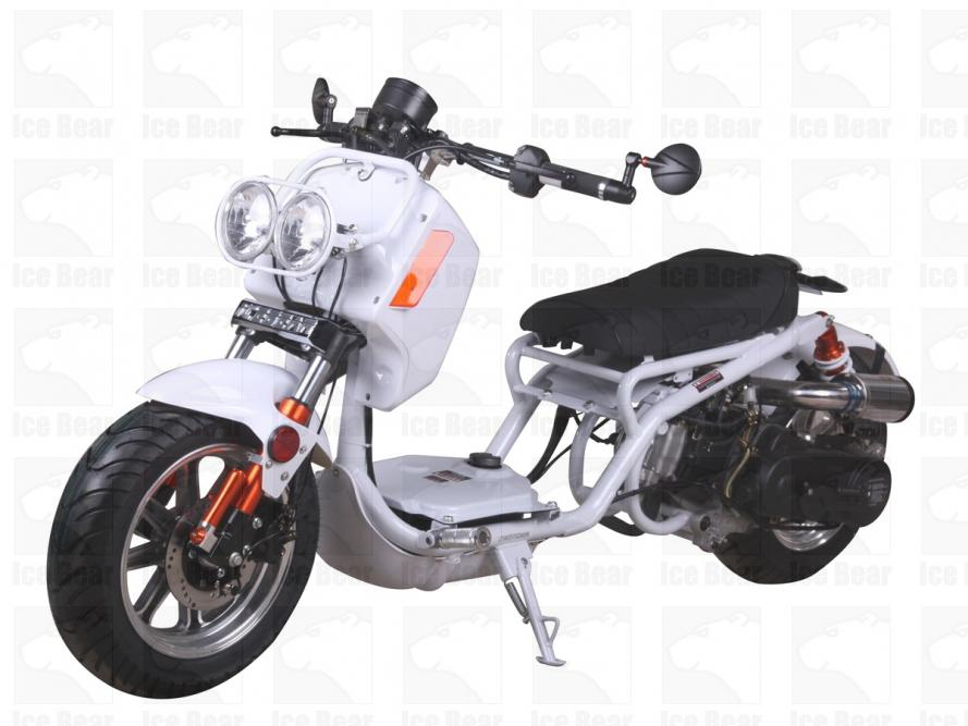 Ice Bear Mad Dog 49cc Ruckus Replica Scooter Windham Powersports