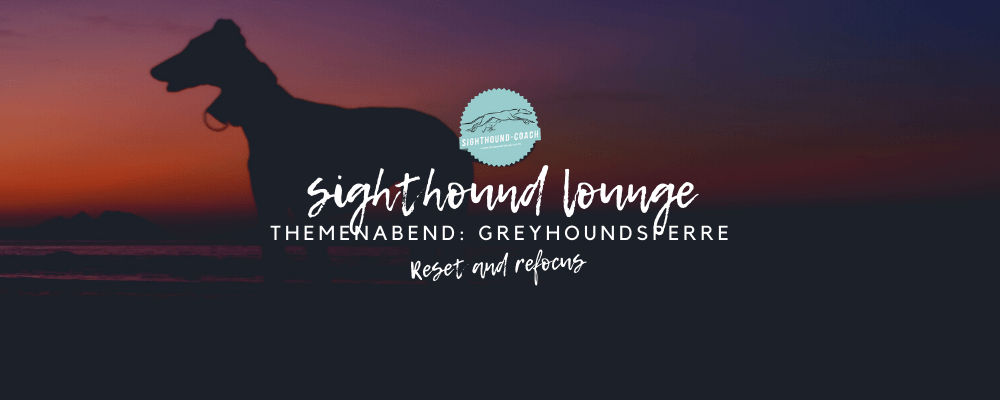 Greyhoundsperre, Themenabend in der Sighthound Lounge