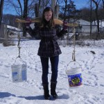 Carrying Buckets the Old Fashioned Way