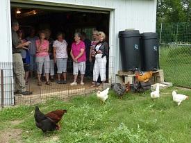 Group at Barn