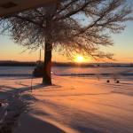 Sunrise on Snow