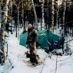 Winter Camping in the North Woods
