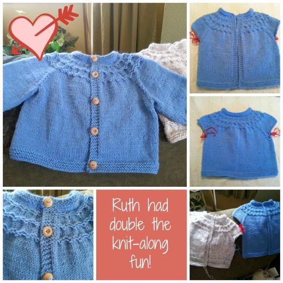 Seamless Yoked Baby Sweater Knit-along