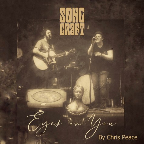 """Cover picture of """"Eyes on You"""" by Chris Peace featuring Rob Pallet and Margo Cisneros"""