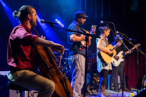 Under the Oak performing live.