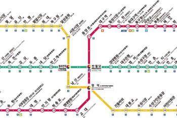 大邱交通攻略∥ 大邱地鐵路線圖/1~3號線/費用/地鐵圖下載/中文版&韓英文版地圖_2020年最新版