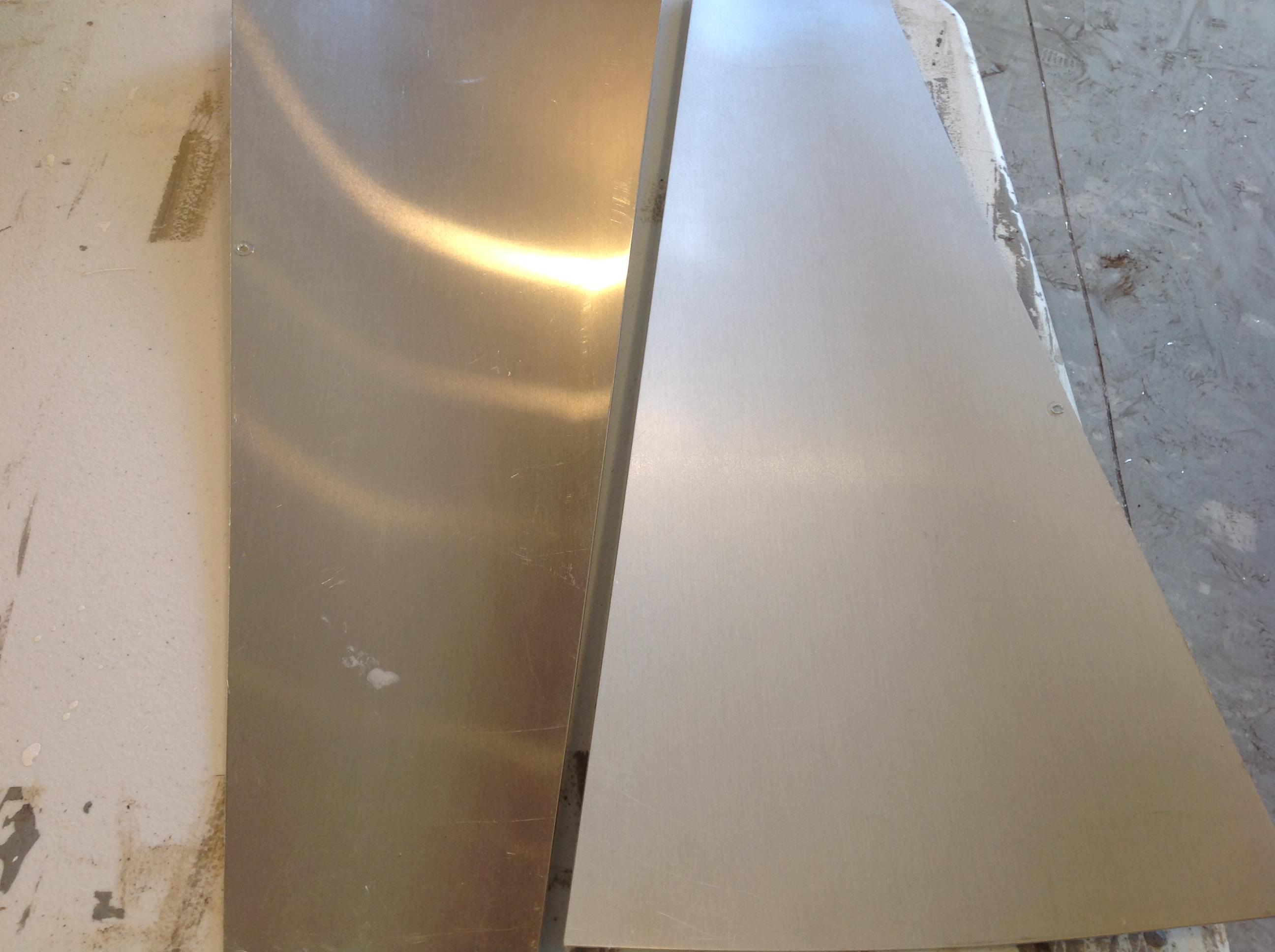 matte galvanized fan