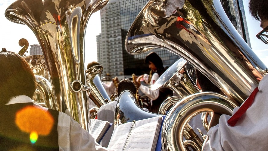 吹奏楽で使うチューバの種類はいくつか知ってる?見分け方や特徴を詳しく解説!
