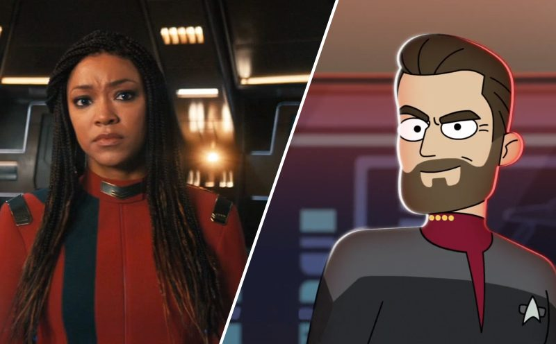 Beam up our breakdown of the 'Star Trek: Discovery' season 4 and 'Lower Decks' season 2 teaser trailers, ,