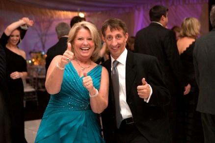 Jane Baker Pierce dances at the Brenau Gala with Greg Baker.