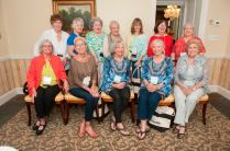 Academy alumnae who attend the Karat Club and Golden Roses Tea