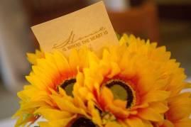 A floral display at the 24 Karat Gold Club & Golden Roses Tea on Friday, April 15, 2016, in Gainesville, Ga. (AJ Reynolds/Brenau University)