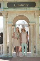 Logan Michelle Deyarmin, senior class representative, escorted by her mother, Laurie Deyarmin. 2016 Alumnae Reunion Weekend