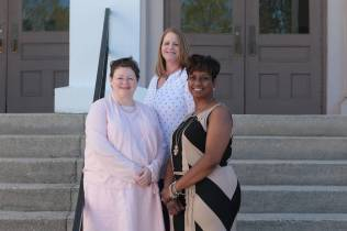 Leila Kramer, Melissa Heard, & Kimberly McCoy from Class of 1992 pose for a photo during the 2017 Alumnae Reunion Weekend at Brenau University, Saturday, April 08, 2017. (Photo/ John Roark for Brenau University)