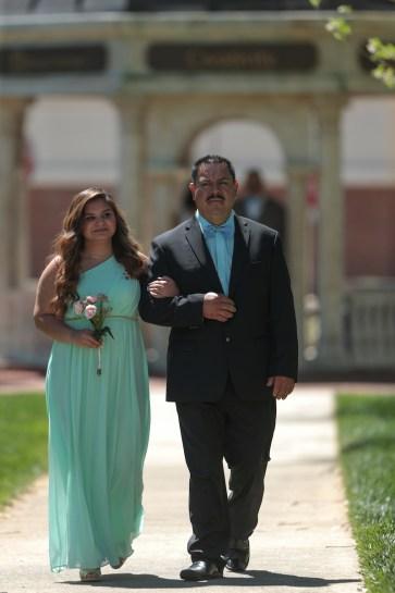 Nancy Benitez and her father Benito Benitez during the 2017 Alumnae Reunion Weekend at Brenau University, Saturday, April 08, 2017. (Photo/ John Roark for Brenau University)