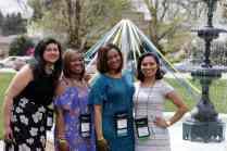Jisel Arroyo, Jennifer Perrimon Otila Hood Oliver and Yesenia Vicoso. (AJ Reynolds/Brenau University)