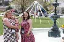Melissa D. Ketchum Corral and Allison Cooper. (AJ Reynolds/Brenau University)