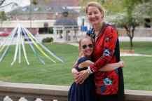Ute Niedermeier and her daughter Elisabeth Niedemeier. (AJ Reynolds/Brenau University)