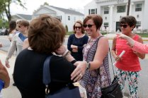 Chi Omega sisters meet and greet. (AJ Reynolds/Brenau University)