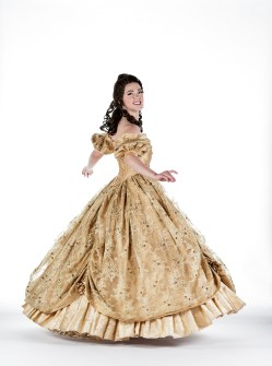 Brenau junior Lauren Hill as Belle from 'Beauty and the Beast.'