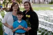 Catherine Stemp poses for a photo with her mother Ellen Stemp, a Brenau alumna. (AJ Reynolds/Brenau University)