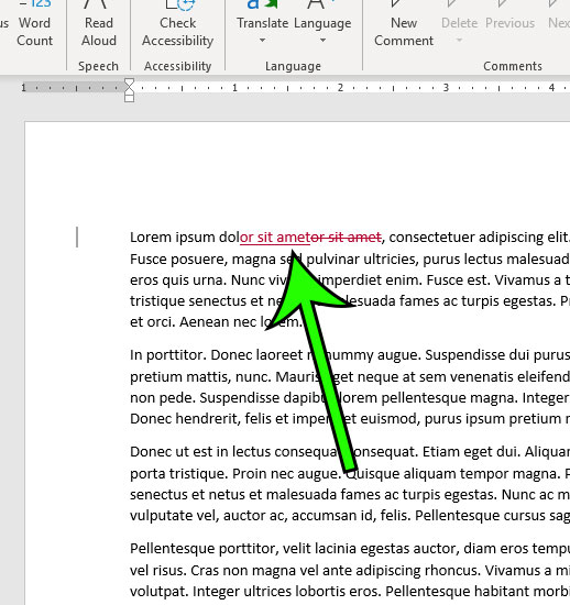 how to track changes in microsoft word