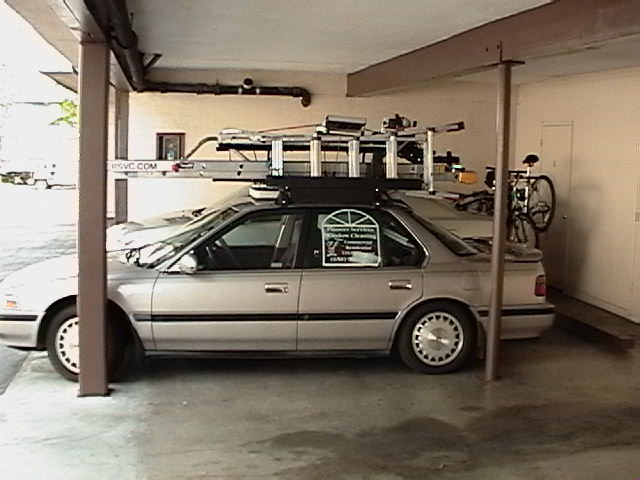 a ladder that can mount on my toyota