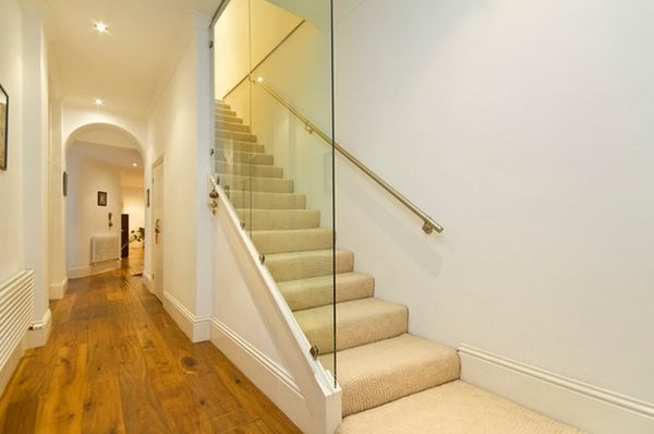 Shattered Glass Be Careful Cleaning Glass Panels Along Stairs | Glass Staircase Panels Near Me | Glass Railing Systems | Wood | Spiral Staircase | Stair Parts | Stainless Steel