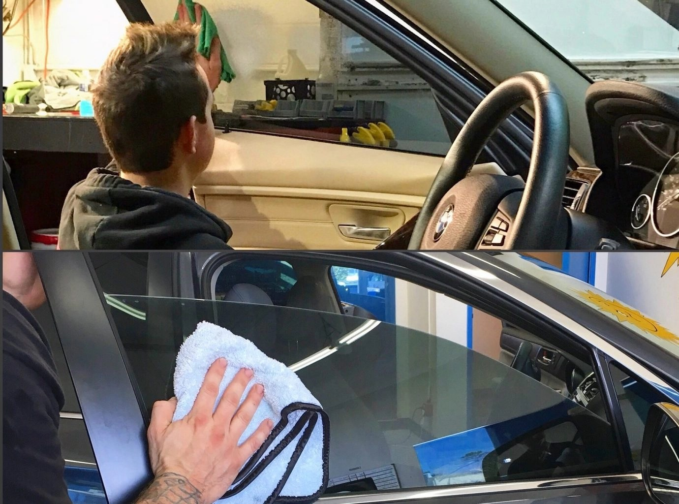 How to Proper Care For and Clean Automotive Tinted Windows